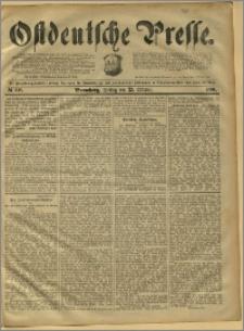 Ostdeutsche Presse. J. 15, 1891, nr 248