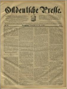 Ostdeutsche Presse. J. 15, 1891, nr 249