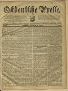 Ostdeutsche Presse. J. 15, 1891, nr 250