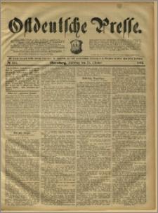 Ostdeutsche Presse. J. 15, 1891, nr 251