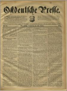 Ostdeutsche Presse. J. 15, 1891, nr 253