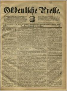 Ostdeutsche Presse. J. 15, 1891, nr 255