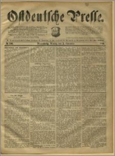 Ostdeutsche Presse. J. 15, 1891, nr 256