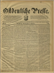 Ostdeutsche Presse. J. 15, 1891, nr 257