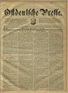 Ostdeutsche Presse. J. 15, 1891, nr 258
