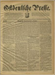 Ostdeutsche Presse. J. 15, 1891, nr 259