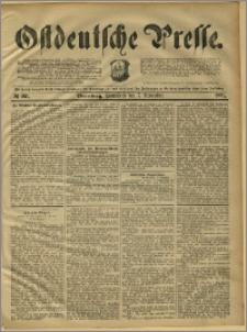 Ostdeutsche Presse. J. 15, 1891, nr 261