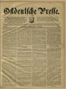 Ostdeutsche Presse. J. 15, 1891, nr 262