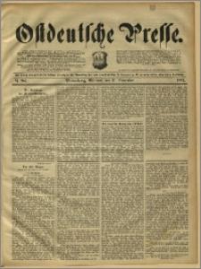 Ostdeutsche Presse. J. 15, 1891, nr 264