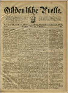 Ostdeutsche Presse. J. 15, 1891, nr 266