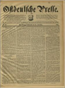 Ostdeutsche Presse. J. 15, 1891, nr 267