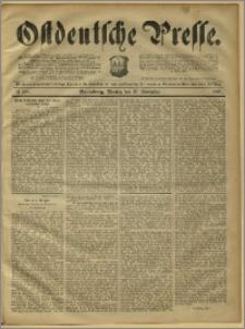 Ostdeutsche Presse. J. 15, 1891, nr 268