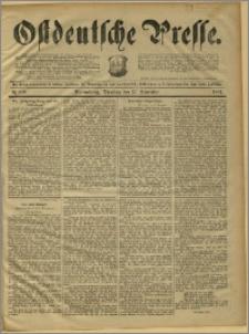 Ostdeutsche Presse. J. 15, 1891, nr 269