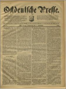 Ostdeutsche Presse. J. 15, 1891, nr 271