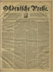 Ostdeutsche Presse. J. 15, 1891, nr 273