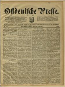 Ostdeutsche Presse. J. 15, 1891, nr 274
