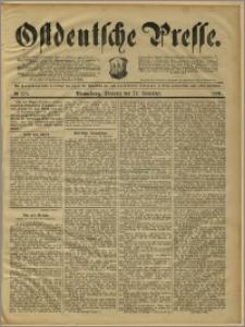 Ostdeutsche Presse. J. 15, 1891, nr 275