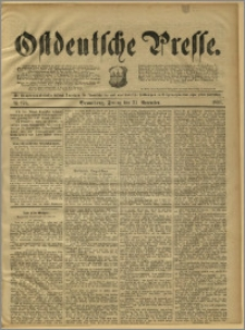 Ostdeutsche Presse. J. 15, 1891, nr 278