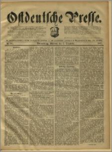 Ostdeutsche Presse. J. 15, 1891, nr 282