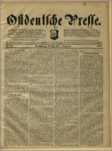 Ostdeutsche Presse. J. 15, 1891, nr 286