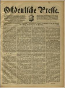 Ostdeutsche Presse. J. 15, 1891, nr 289