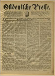 Ostdeutsche Presse. J. 15, 1891, nr 291