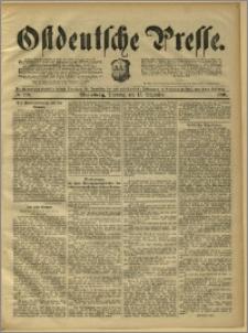 Ostdeutsche Presse. J. 15, 1891, nr 293