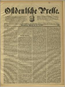 Ostdeutsche Presse. J. 15, 1891, nr 294