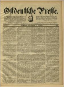 Ostdeutsche Presse. J. 15, 1891, nr 299