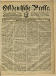 Ostdeutsche Presse. J. 15, 1891, nr 300