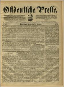 Ostdeutsche Presse. J. 15, 1891, nr 302