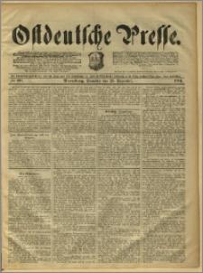Ostdeutsche Presse. J. 15, 1891, nr 303