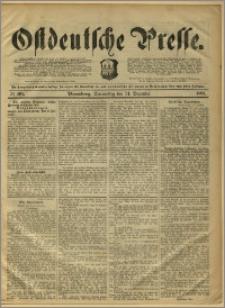 Ostdeutsche Presse. J. 15, 1891, nr 305