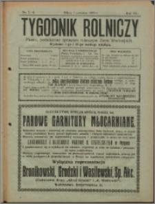 Tygodnik Rolniczy 1923, R. 7 nr 7/8