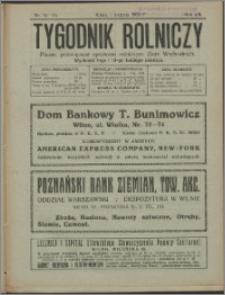 Tygodnik Rolniczy 1923, R. 7 nr 15/16