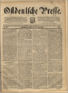 Ostdeutsche Presse. J. 17, 1893, nr 223