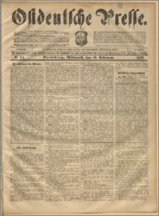 Ostdeutsche Presse. J. 21, 1897, nr 34