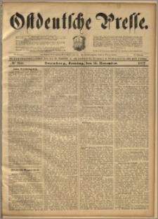 Ostdeutsche Presse. J. 21, 1897, nr 268