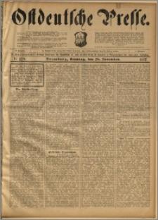 Ostdeutsche Presse. J. 21, 1897, nr 279