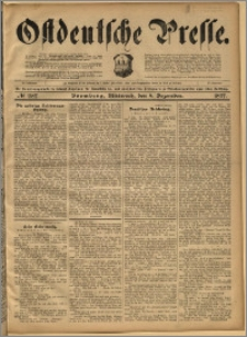 Ostdeutsche Presse. J. 21, 1897, nr 287