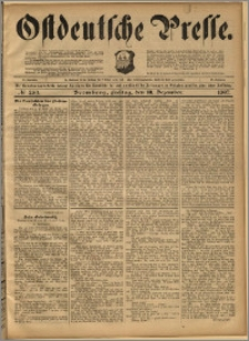 Ostdeutsche Presse. J. 21, 1897, nr 289