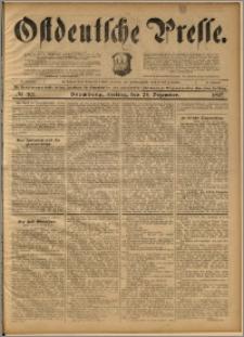 Ostdeutsche Presse. J. 21, 1897, nr 301
