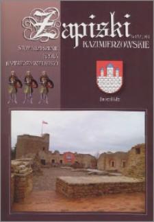 Zapiski Kazimierzowskie 2014 nr 13