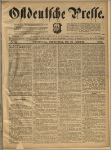 Ostdeutsche Presse. J. 22, 1898, nr 16