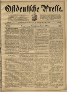 Ostdeutsche Presse. J. 22, 1898, nr 52