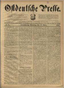 Ostdeutsche Presse. J. 22, 1898, nr 73