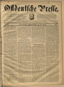 Ostdeutsche Presse. J. 22, 1898, nr 86