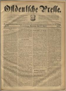 Ostdeutsche Presse. J. 22, 1898, nr 89