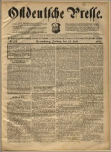 Ostdeutsche Presse. J. 22, 1898, nr 169