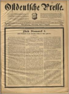 Ostdeutsche Presse. J. 22, 1898, nr 178